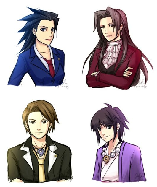 Image Result For Phoenix Wright Genderbend Phoenix Wright