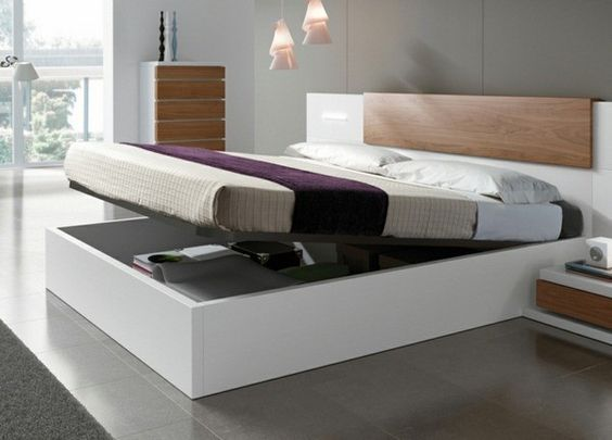 Insanely Clever Furniture Including Storage Solutions To Organize Every Room Bed Designs With Storage Bedroom Furnishings Bed Design Modern