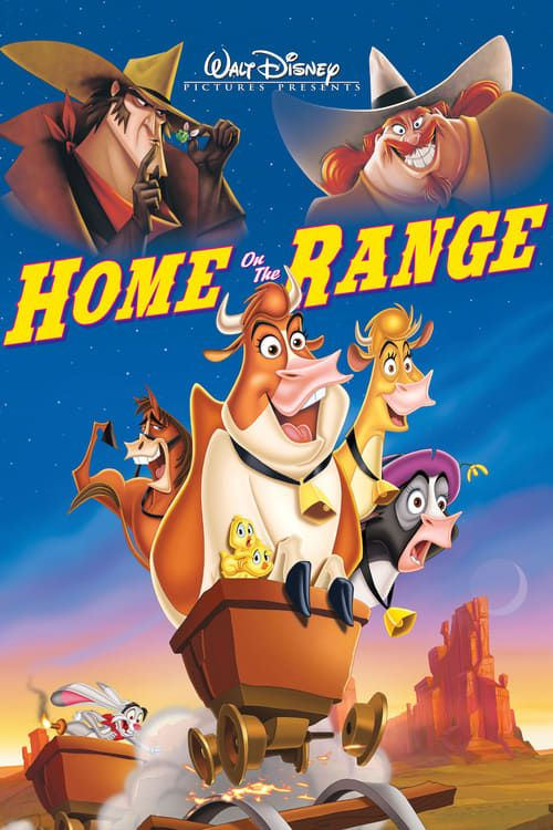 Watch Home On The Range 2004 Full Movie Online Good Animated Movies Disney Movies To Watch Disney Movies