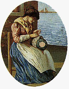 A Burano-Italie   Lacemaker