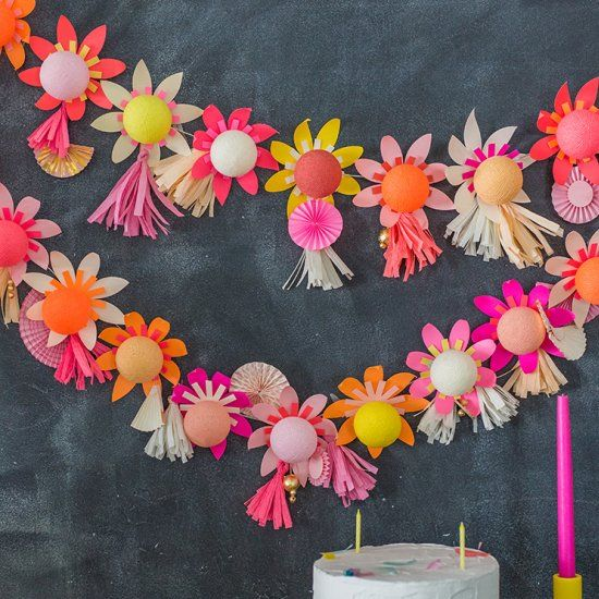 Diy Floral String Lights : Turn your string of lights into fun paper flower head turners! DIY Party Pinterest Posts ...