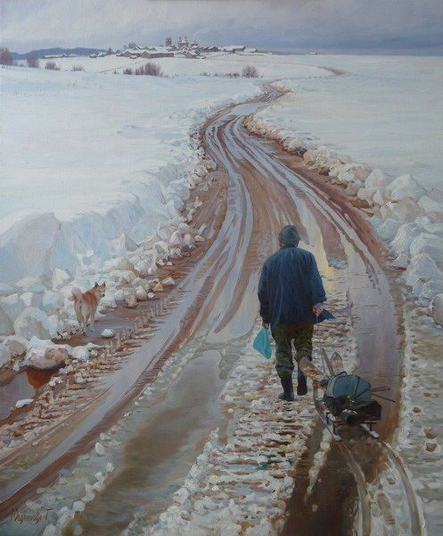 peshkom. walking. russia by tatyana yushmanova