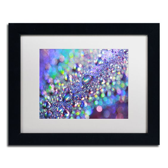 'Colors of Rainbow' by Beata Czyzowska Young Framed Photographic Print