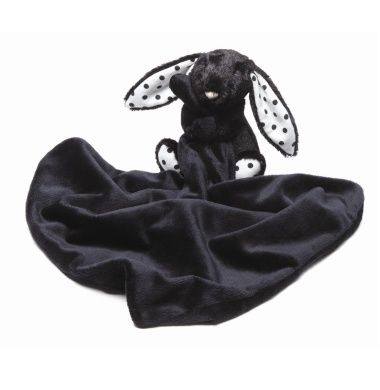 Jellycat Bashful Treacle Bunny Soother #ConvertToBlack