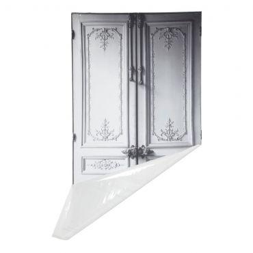 Trompe L'oeil Haussmannian Door Sticker