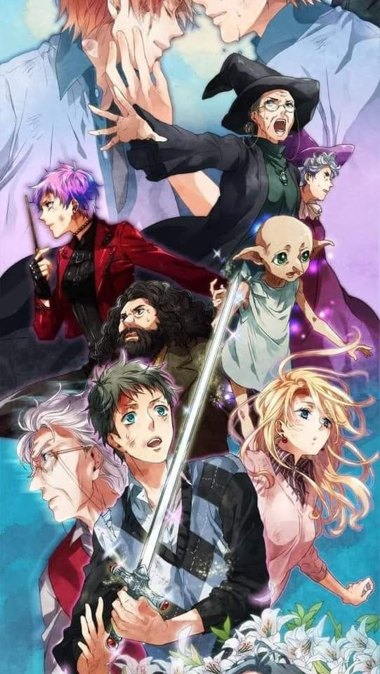 Pin By Jeannie Almonte On Harry Potter Harry Potter Anime Harry Potter Drawings Harry Potter Artwork