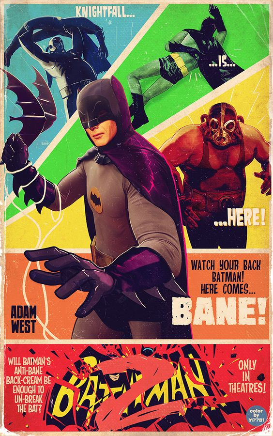 Batman 2 - Created by Marco D'Alfonso | Tumblr 18 x 29 Giclée prints (edition of 50) available at iam8bit