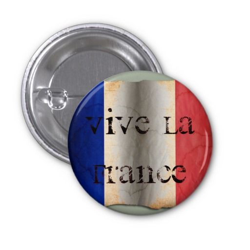 #Flagge von #Frankreich #Runder #Button 3,2 Cm