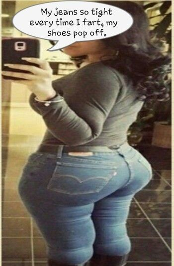 Very bad wind in tight jeans   Curves   Pinterest
