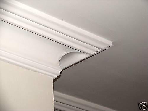 Victorian Swan Neck Plaster Cornice Coving Style C56