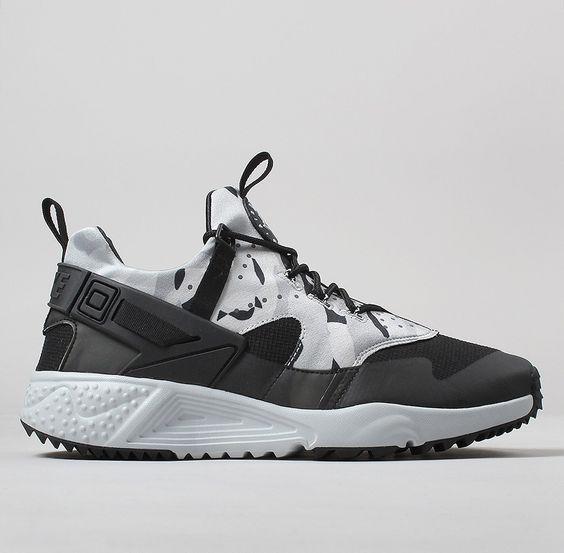 196eef41935a2 ... university red white  nike air huarache utility shoes pure platinum  dark grey black sneakers pinterest nike air huarache h