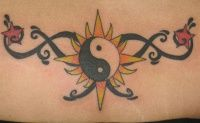 lower back yin yang tattoo - Tattoo images gallery, tattoos pictures, designs and photos