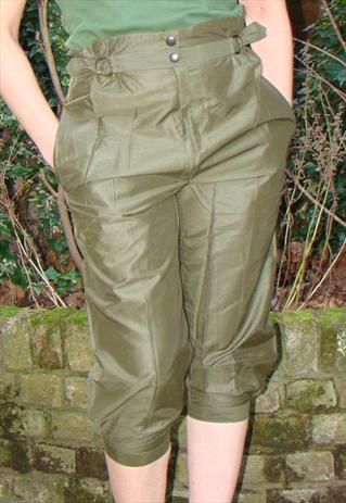 Cool NEW WOMENS LADIES SKINNY FIT CARGO JEANS KHAKI ZIP COMBAT QUILTED LOOK