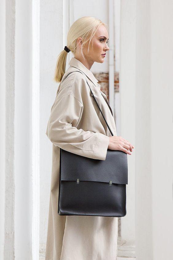 Leder Rucksack-Handtasche Universal von KeepAnEyeLeather auf Etsy