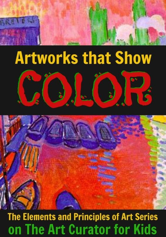 Principles Of Organization Art : Artworks that show color warm and colors