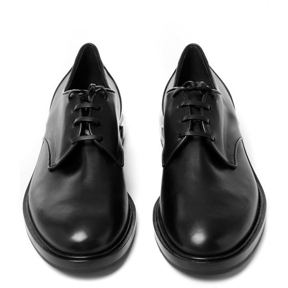 Casadei Black Michaela Leather Oxford Shoes ($930) ❤ liked on Polyvore featuring shoes, oxfords, leather oxford shoes, black leather shoes, lace up oxfords, black shoes and flat shoes