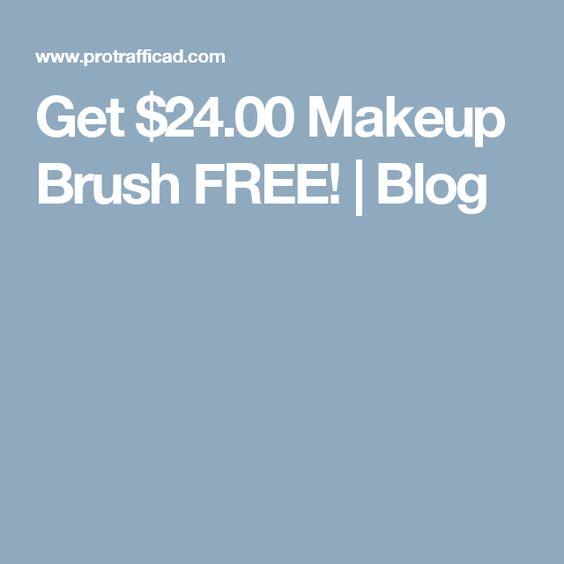 Get $24.00 Makeup Brush FREE! | Blog