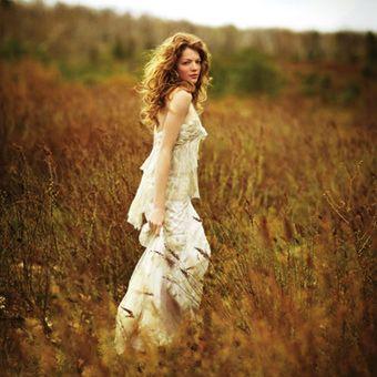 Photo by Peter Hannert, Brides Magazine Model is Nicole Laliberte: