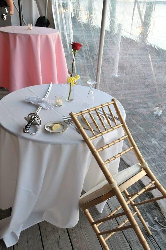 Fallen soldier table