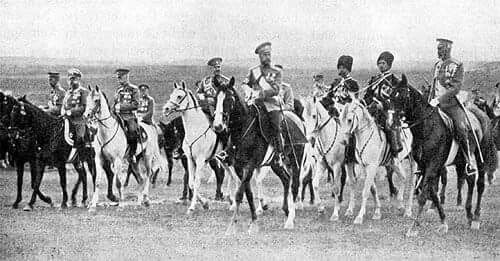 "Tsar Nicholas ll of Russia in 1914. ""AL"""