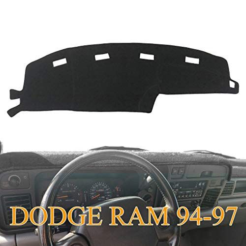 Yiz Dashboard Cover Dash Cover Mat Pad Custom Fit For Dodge Ram 1500 2500 3500 1994 1995 1996 1997 Ram 94 Dodge Ram 1500 Cool Car Accessories Dashboard Covers