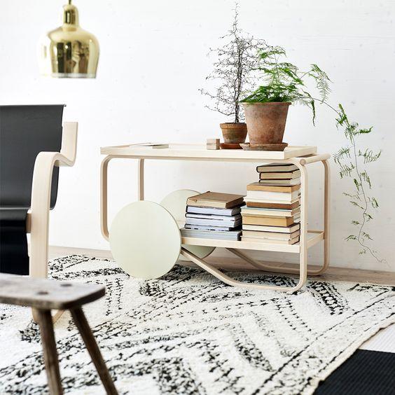 家具 ブランド インテリア メーカー アルテック ティートロリー フィンランド 北欧