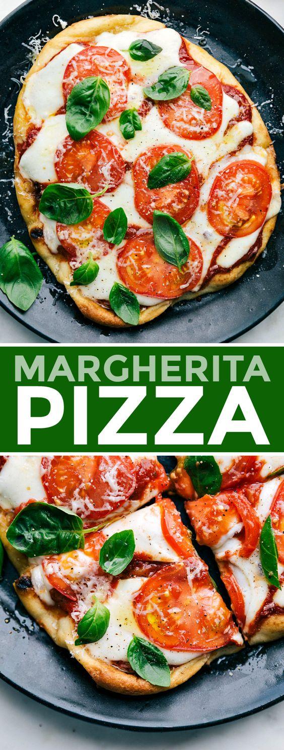 QUICKEST MARGHERITA PIZZA