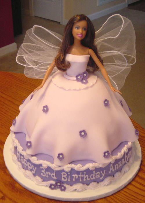 Barbie Fondant Cake Images : Barbie cake - 10