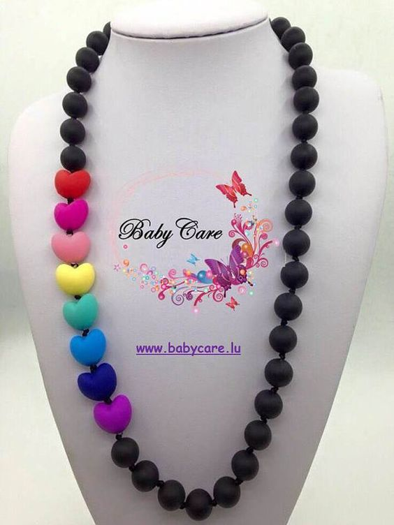 Sieh dir dieses Produkt an in meinem Etsy-Shop https://www.etsy.com/de/listing/238719316/silicon-teething-necklaces-for-moms