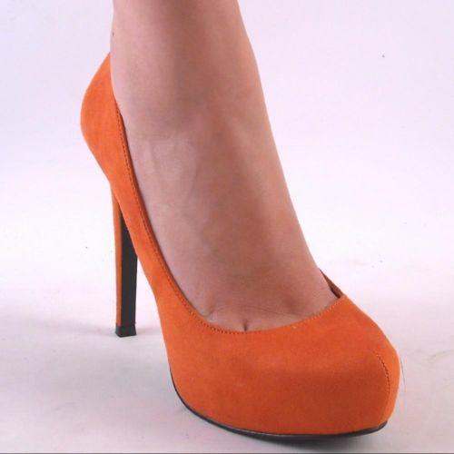platform high heels burnt orange and high heel pumps on pinterest. Black Bedroom Furniture Sets. Home Design Ideas