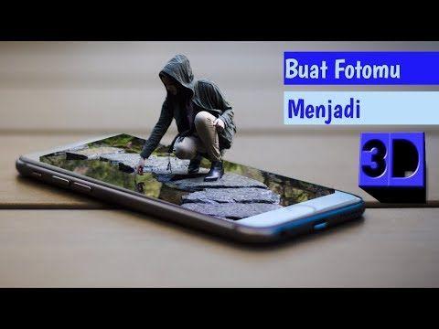 Tutorial Edit Foto Menjadi 3d Manipulasi 3d Dengan Menggunakan Aplikasi Picsart Youtube Pengeditan Foto Picsart Youtube