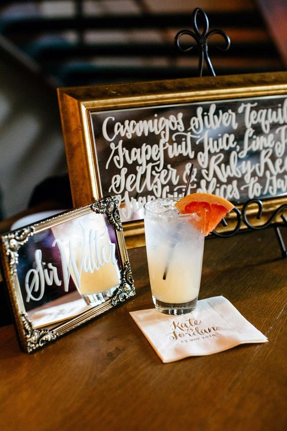 Elevate Your Signature Sip with this Finishing Touch | TheKnot.com