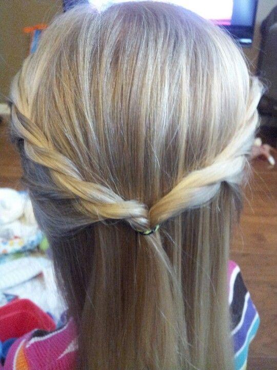 Preschooler / Kindergarten hair style!
