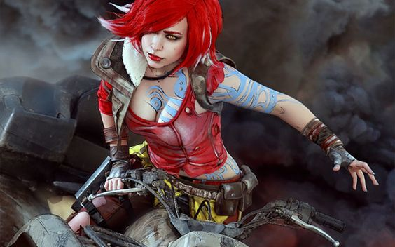 Cosplay borderland : Red is dead