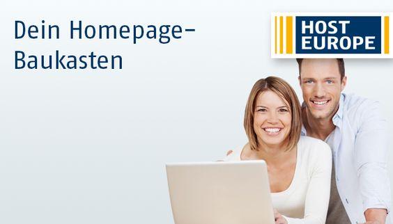 Erstelle professionelle Websites ohne Programmierkenntnisse mit dem Homepage-Baukasten von Host Europe: https://www.hosteurope.de/Homepage-Baukasten/  #HPBK #Homepagebaukasten von #HostEurope (#Host #Europe)