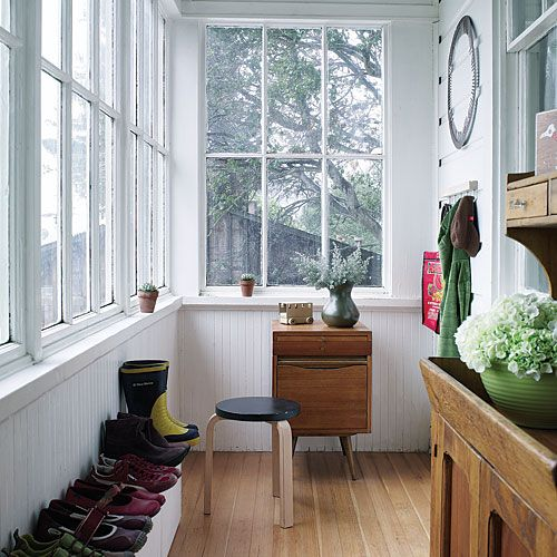 Small Enclosed Front Porch Entry: Cottages, The O'jays And Home Renovation