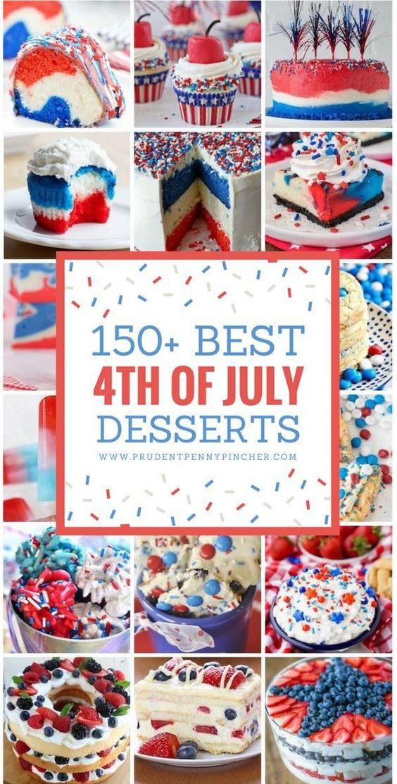150 Best Patriotic 4th of July Desserts