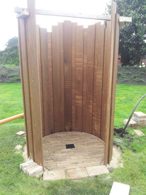 ▷ #Gartendusche im modernen Design Garvida Velaro Gartendusche - sichtschutz fur dusche