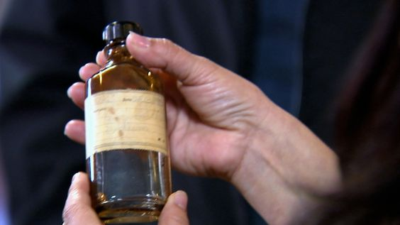 ): This bottle helped epileptics in the early part of the century and was found under the boxing ring of a community center. When the offending spirit, a boxer named Tex, was revealed to be epileptic, John identified this as the haunted object and removed it.