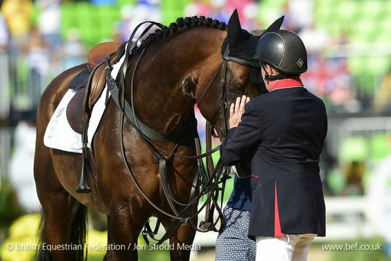A word of thanks to Big Star by Nick Skelton Gold medal individual showjumping…