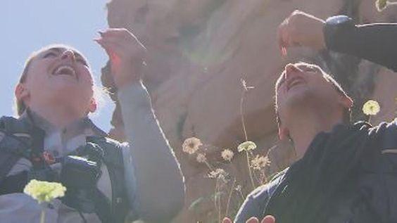 Eklige Mutprobe in TV-Show: Lindsey Vonn verspeist Regenwurm