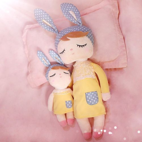 Soft Stuffed Animal Doll Bunny Design Doll Plush Toys For Baby Girl Soft Stuffed Animals Baby Girl Toys Animal Dolls
