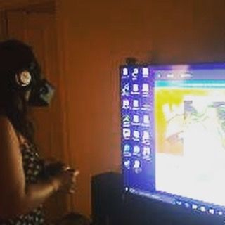 #oculus #virtualreality waiting for my #vive  to arrive #nerd by yining0305 - Shop VR at VirtualRealityDen.com