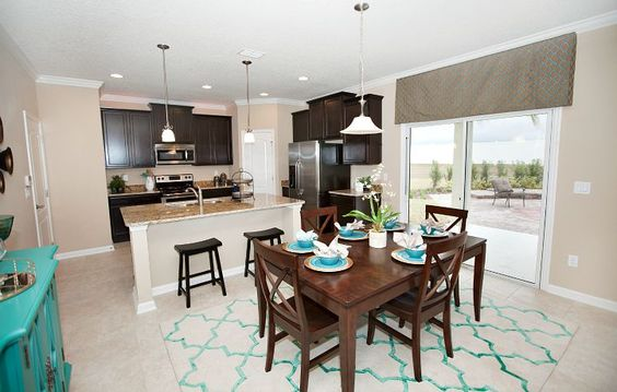 Brio kitchen/cafe in Mill Creek at Kendall Town #Lennar #DreamHome