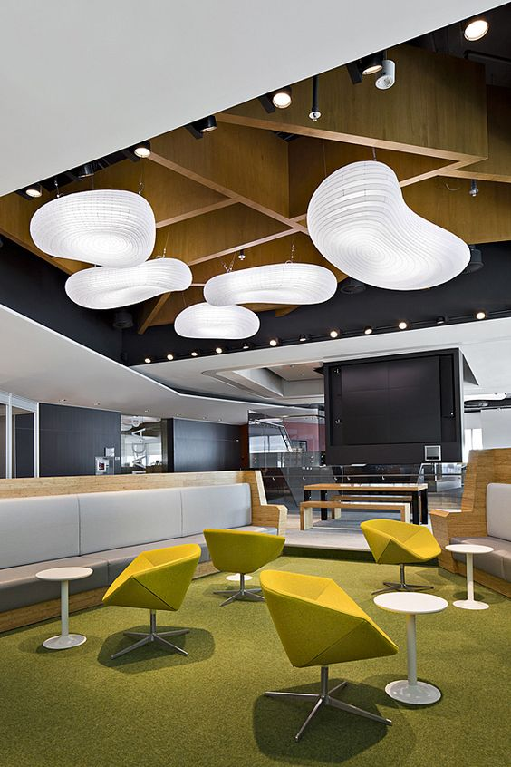 Bhp billiton in singapore geyer for Marketing office design