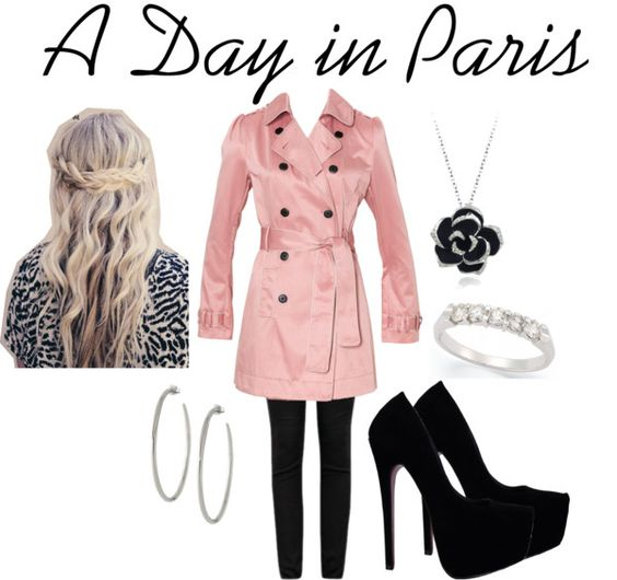 """A Day in Paris"" by gracieinscho on Polyvore"