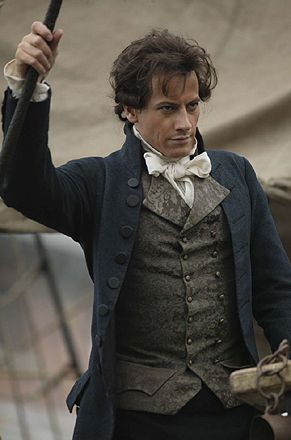 Ioan Gruffudd, as William Wilberforce in Amazing Grace (one of my favorite 18th century-set movies).: