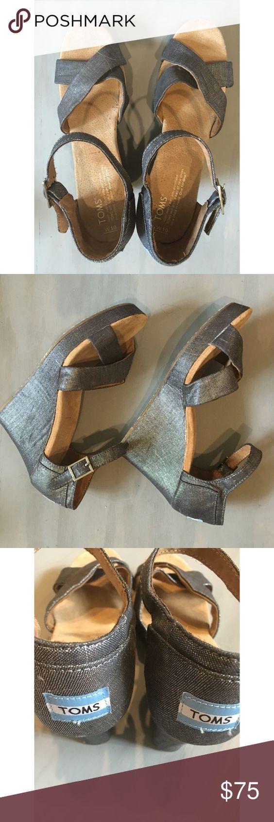 Comfy Silver Heels