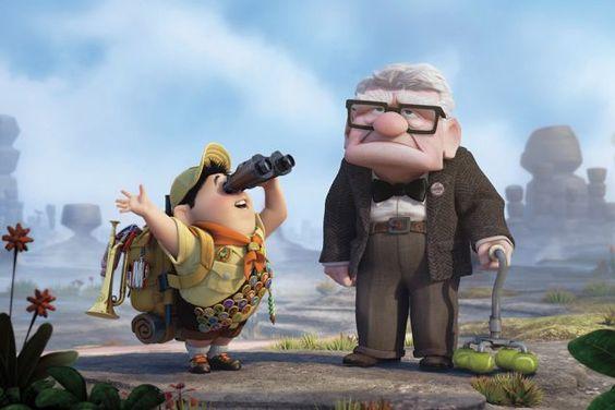 Les meilleurs #dessins animés pour #enfants: Là-Haut. #Up