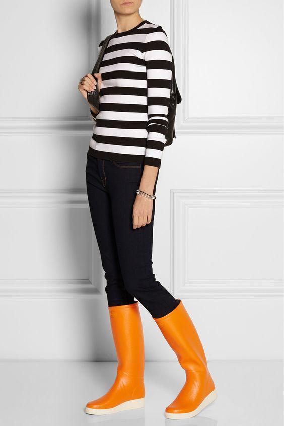 Le Chameau|Paris rubber boots |NET-A-PORTER.COM